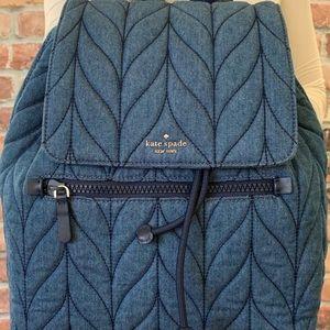 Kate Spade Denim Backpack